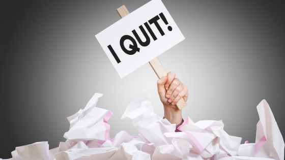 Handing in your notice| Tips for leaving your job