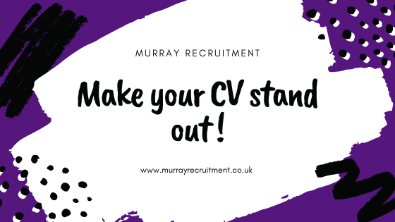 How to make your CV stand out