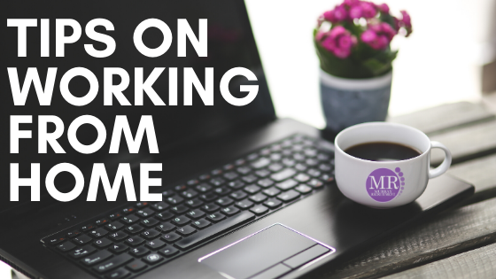 5 Top tips on working from home